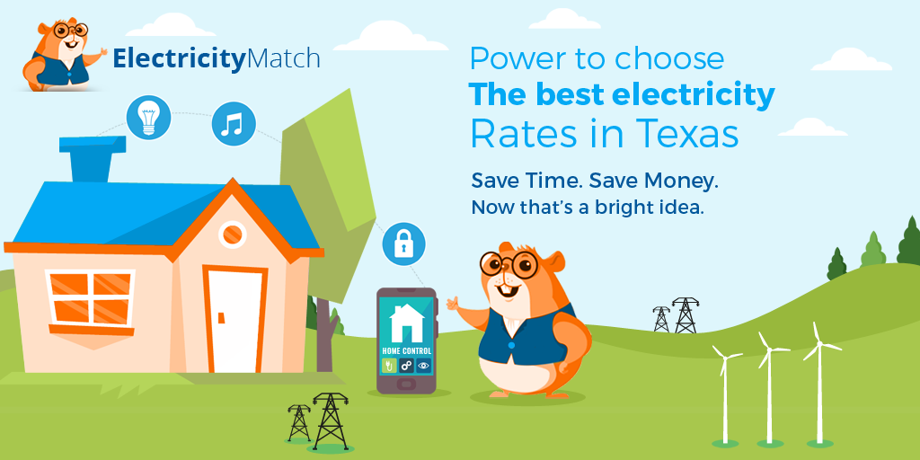 Power to choose the best electricity rates in texas – rectangle